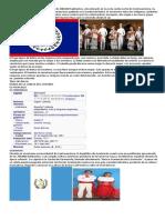 INFORMACION DE LOS PAISES DE CENTRO AMERICA