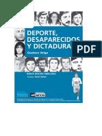 Deportes Desaparecidos y Dictadura