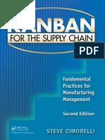 Kanban for lean manufacturing