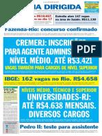folha dirigida junho 2019