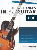 cambios para jazz guitar