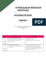 Rpm Math Tahun 5