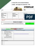 TA1 Spanish - Motor Grader