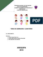 Climaterio Seminario