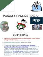 plagios y tipos de Plagios