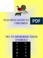 Math for Young Children