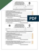 Formato de Solvencia Para La Entrega de Expedientes 1 2019