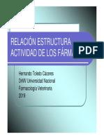 Estructura de Fármacos y Función