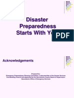 Disaster Preparedness Starts With You Presentation 2010.ppt
