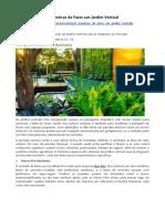 PAISAGISMO - 8 Maneiras de Fazer um Jardim Vertical