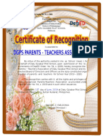 Cert of Recod 2019 A