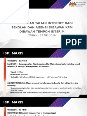 Slaid -JPN - Interim - Maxis   4 G   Wireless Access Point