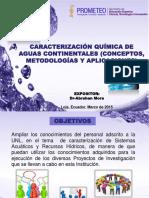 Caracterización Química de Aguas Continentales