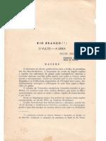 Felte Bezerra - Revista Do Ihge - Barão de Rio Branco