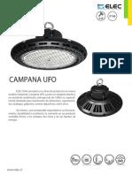 Ficha Técnica Campanas Ufo