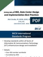 Bicsi 002 Data Center Design and Implementation Best Practices