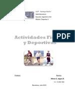 Actividades Fisicas y Deportivas. II