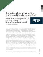 Peligrosidad Revista Penal