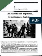 Fanzine Encuentro Nº8 / Exiliados argentinos en México 1982