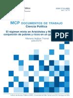 el regimen mixto en aristoteles y maquiavelo la conjuncion de pobres y ricos en un gobierno estable.pdf