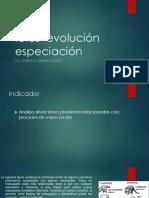 Icfes  evolución especiación.