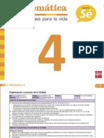 PlanificacionMatematica4U5