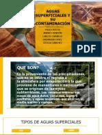 Aguas Superficiales y Su Contaminación