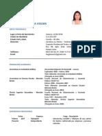 Megleana Gamboa - Resumen Curricular 15.12.2018