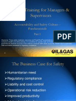 Safety Training for Managers & Supervisors p1