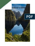 Abandonar a Biblia