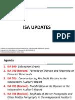 ISA Updates for CGS-Mr. Jekell Salosagcol