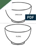 Tazón Singular y Plural