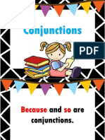 Conjucntions Slide