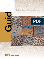 CCAA Guide to Concrete Flatwork Finishes