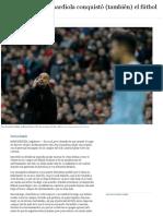 Cómo El Método Guardiola Conquistó El Fútbol Inglés