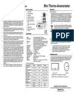 Extech User Manual Model 45118