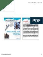 1-Introducción Acero Estructural