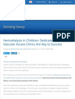 Hemodialysis in Children