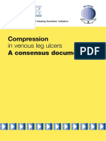 compression in venous leg ulcer