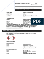 Safety Data Sheet SCR 100