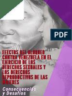 Efectos del Bloqueo contra Venezuela en el ejercicio de los Derechos Sexuales y Derechos Reproductivos de las Mujeres