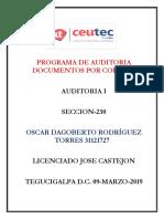 OscarRodriguez 31121727 Tarea-07 Programa de Auditoria