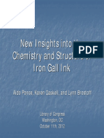 IR - Iron gall ink