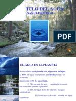 ciclo de elemento agua