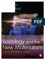 Nick J. Fox, Pam Alldred - Sociology and the New Materialism_ Theory, Research, Action-SAGE (2016)