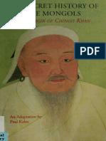 Historia de los Mongoles