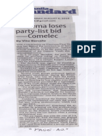 Manila Standard, Aug. 6, 2019, Cardema loses party-list bid - Comelec.pdf