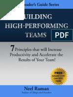 High Performance Team Neelraman Book