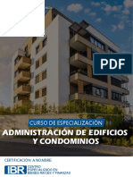 Administración de Edificios y Condominios