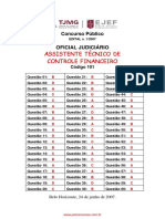 Gabarito Oficial205 Arquiteto Completa